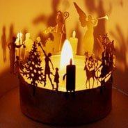 Bild Teelicht-Adventskranz - Adventskalender Ideen
